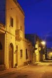 Old street in San Lawrenz on Gozo island. Malta.  Royalty Free Stock Image