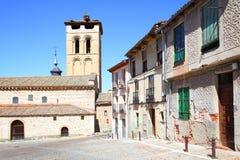 Old street in Segovia Royalty Free Stock Image