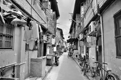 Old street in Shanghai Stock Photo