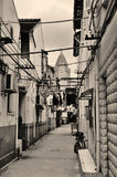 Old street in Shanghai Stock Photography