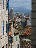 Old Street in Split, Croatia Royalty Free Stock Photos