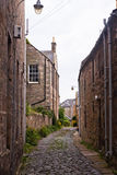 Old street in St Andrews, Scotland, UK royalty free stock photo