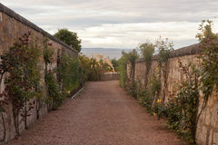 Old street in St Andrews, Scotland, UK royalty free stock images