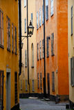 Old Street, Stockholm. Historic Old Street, Stockholm, Sweden Royalty Free Stock Photography