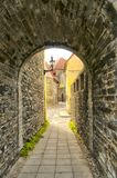 Old Street of Tallinn Estonia Royalty Free Stock Photo