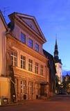 Old street in Tallinn. Estonia Royalty Free Stock Photography