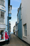 Old Street to Sea, Cromer, Norfolk, England Royalty Free Stock Photo