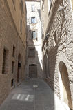Old street of Todi Stock Image