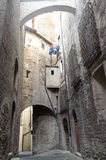 Old street of Todi Royalty Free Stock Photos
