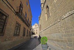 Old street in Toledo, Spain Royalty Free Stock Photo