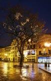 Old street in Torun.  Poland Stock Images
