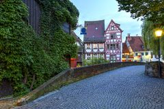 Street in Ulm, Germany Royalty Free Stock Photos