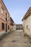 Old street in Urueña Royalty Free Stock Photo