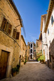 Old street, Valldemossa, Majorca Stock Images