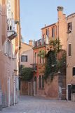 Old street in Venice Stock Photo