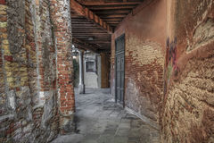 An old street in Venice Royalty Free Stock Photo