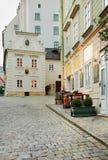 Old street in Vienna. Austria Stock Photos