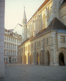 Old street in Vienna. Stock Photography