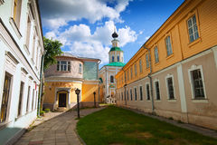 Old street at Vladimir. In summer, Russia Royalty Free Stock Image