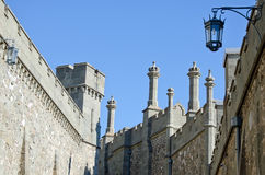 Old street in the Vorontsov Palace Royalty Free Stock Photo