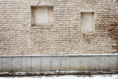 Old street wall Royalty Free Stock Images