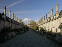 Old street in Wells Stock Photo
