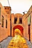 Old street in Yazd, Iran Stock Photos