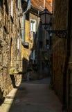 Old Street in Zagreb Stock Image