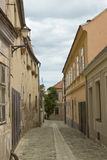Old street in Znojmo Royalty Free Stock Photos