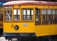 Old Streetcar in Ybor City, Florida Stock Photography