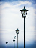 Old streetlamps Stock Photo