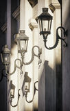 Old streetlamps Stock Image