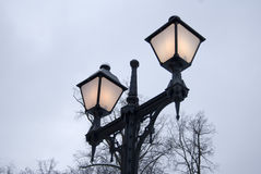 Old streetlight Stock Photos