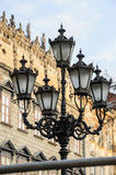 Old streetlight in Lviv, Ukraine Stock Photography