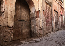 Old streets Stock Photo