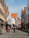 Old streets of Bruges Royalty Free Stock Photo