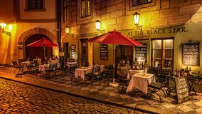In Prague Streets. Old streets in the city of Prague Royalty Free Stock Images