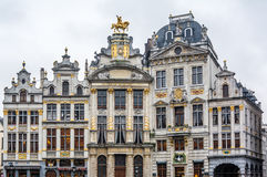 Old streets of the city. Relax - you are in Brussels! Royalty Free Stock Photo