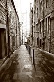 Old streets of Edinburgh Stock Photos