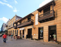 Old streets of Havana. Royalty Free Stock Photography