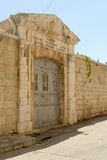 The old streets and houses of the ancient city of Jerusalem Stock Photos
