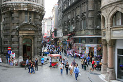 Old Streets of Istanbul Royalty Free Stock Photography
