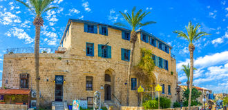 The old streets of Jaffa Royalty Free Stock Photos