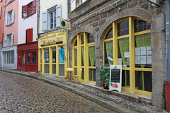 Old Streets of Le Puy en Velay, France Stock Photo