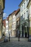 Romantic streets of Ljubljana Stock Images