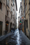 Old streets of Lucca, Italy Stock Photography