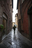 Old streets of Lucca, Italy Royalty Free Stock Photos