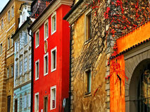 Old streets in Prague Royalty Free Stock Photos