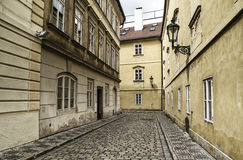 Old streets of Prague, Czech Republic Stock Photography