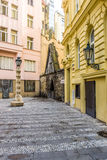 The old streets of Prague Royalty Free Stock Photos